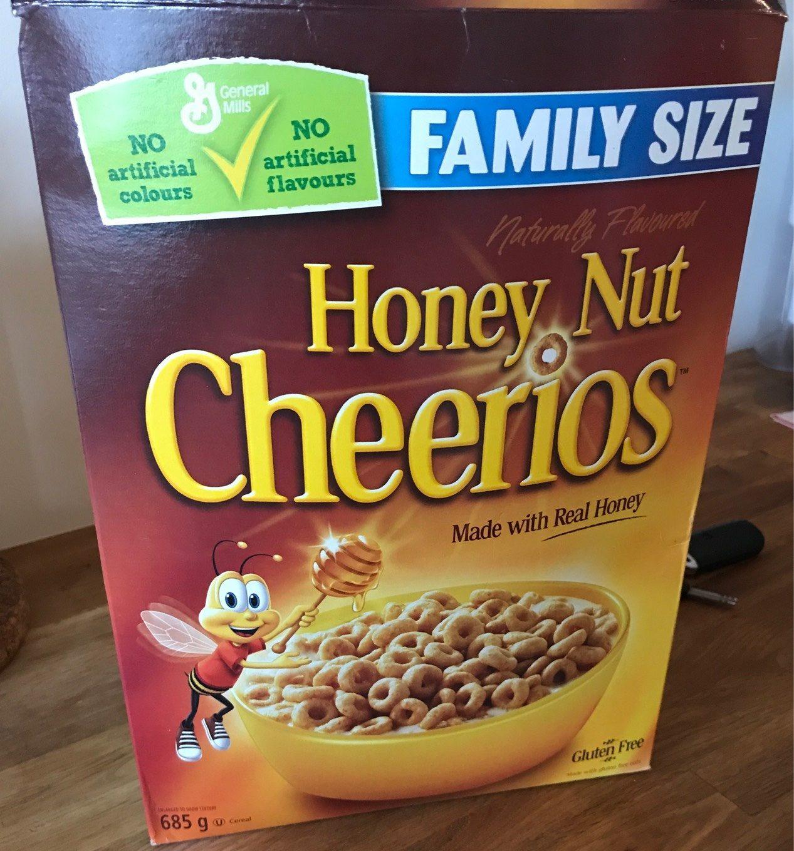 Cheerios Miel & Noix - Produit - fr
