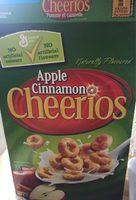 Céréales Cheerios (pommes & Cannelle) - Produit - fr