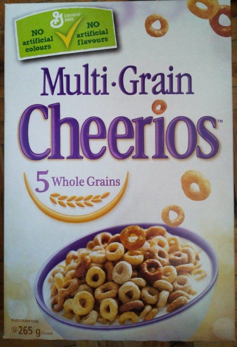 Céréales Cheerios (multi-grain) - Produit