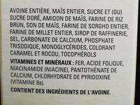 Céréales Cheerios (multi-grain) - Ingrédients