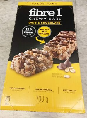 Chewy Bars Oats & Chocolate - Product - en