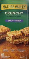 Crunchy Granola Bars Oats 'N' Honey - Produit - en
