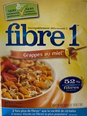 Fibre 1 Grappes au miel - Product - en