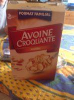Céréales Avoine Croquante (amandes) - Product - fr