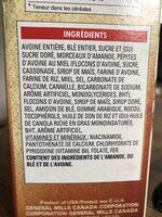 Céréales Avoine Croquante (amandes) - Ingrediënten - fr
