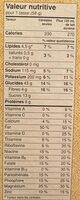 Céréales Avoine Croquante (amandes) - Voedingswaarden - fr
