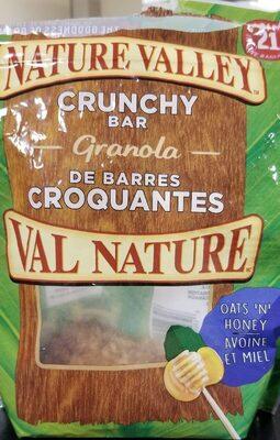 Granola de barres croquantes - Produit - fr