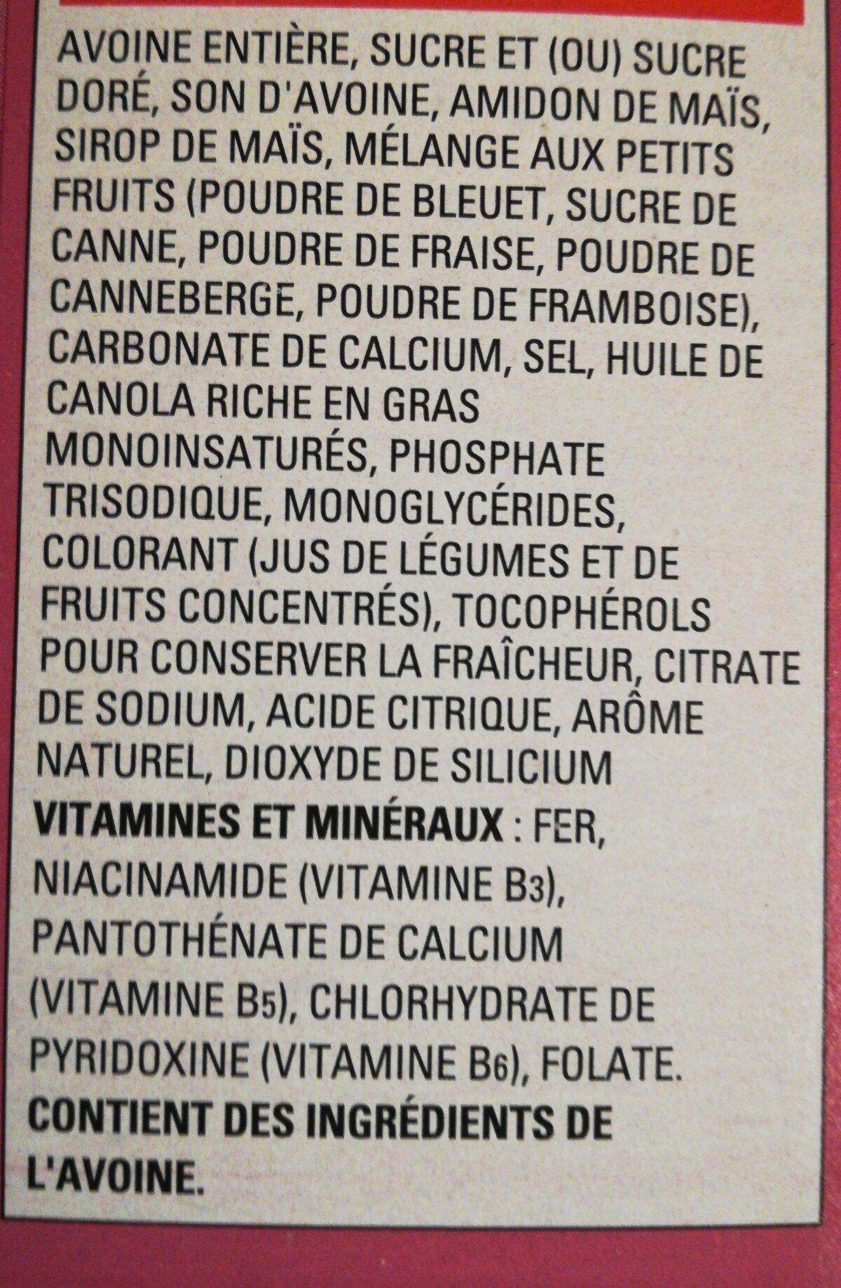 Cheerios édition Spéciale - Ingredients