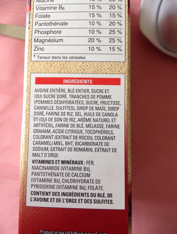 Avoine Croquante Noix de coco - Ingrediënten - fr