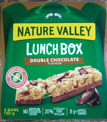Lunch Box Granola Bars - Double Chocolate - Product - en