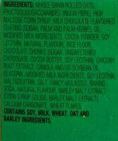 Lunch Box Granola Bars - Double Chocolate - Ingredients - en