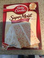 Mélange à Gâteau Super Moist (cerisettes) - Produit