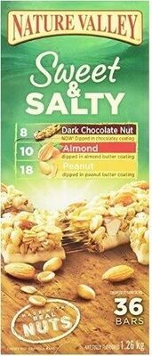 Sweet & salty granola bars count variety bars - Produit