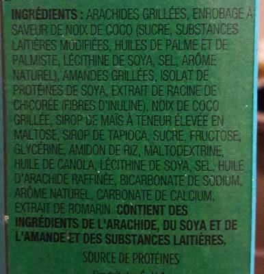 Barres aux protéines - Ingrédients - fr