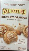 Bouchées Granola au beurre d'amande - Product