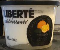 Yogourt aux citrons - Produit - fr
