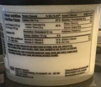 Yogourt aux citrons - Informations nutritionnelles - fr