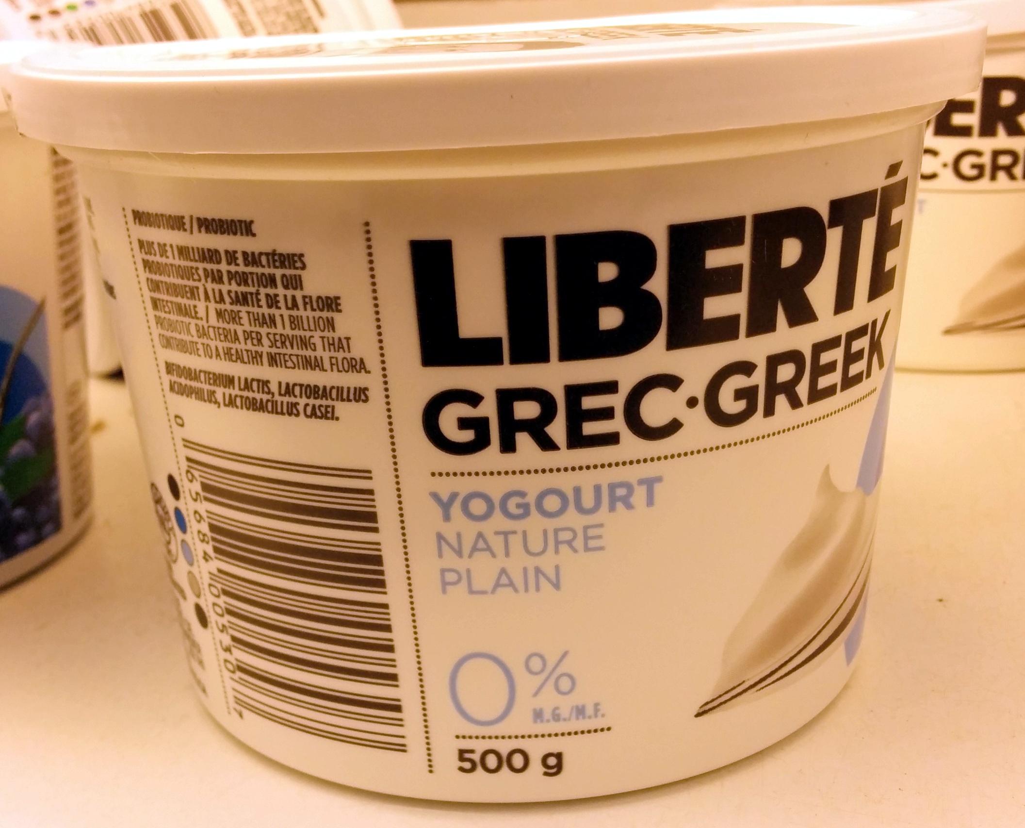 Liberté Grec (0% MG) - Product - fr