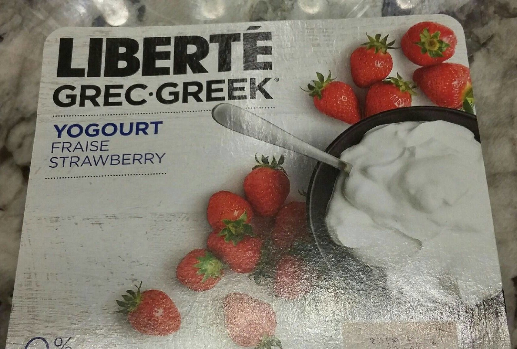 Yogourt fraise - Produit - fr