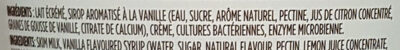 Yogourt style islandais - Ingrédients - fr