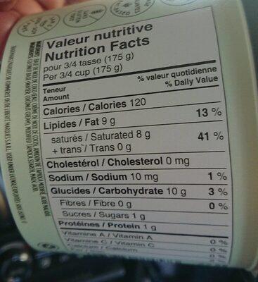 Liberté dairy free plain - Informations nutritionnelles - fr
