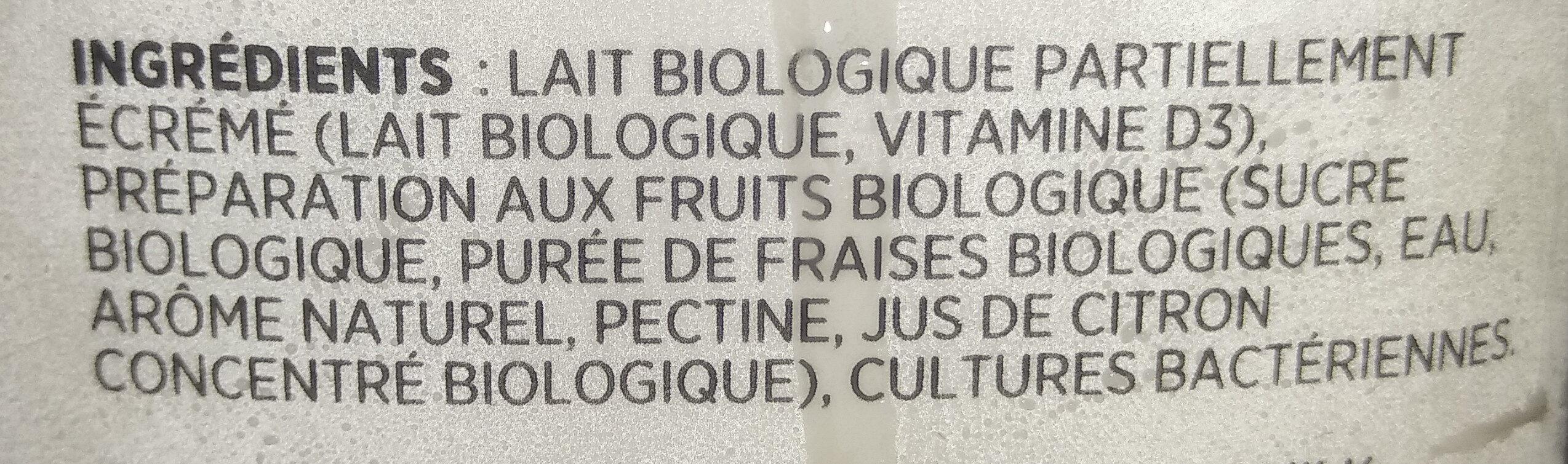 Kéfir - Ingrédients - fr