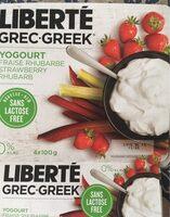 Yogourt fraise rhubarbe - Product - fr