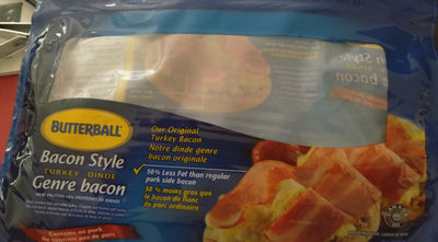 Butterball Turkey Bacon - Product - fr