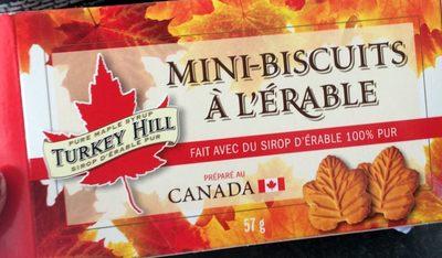 Mini-Biscuits à l'Érable - Producto