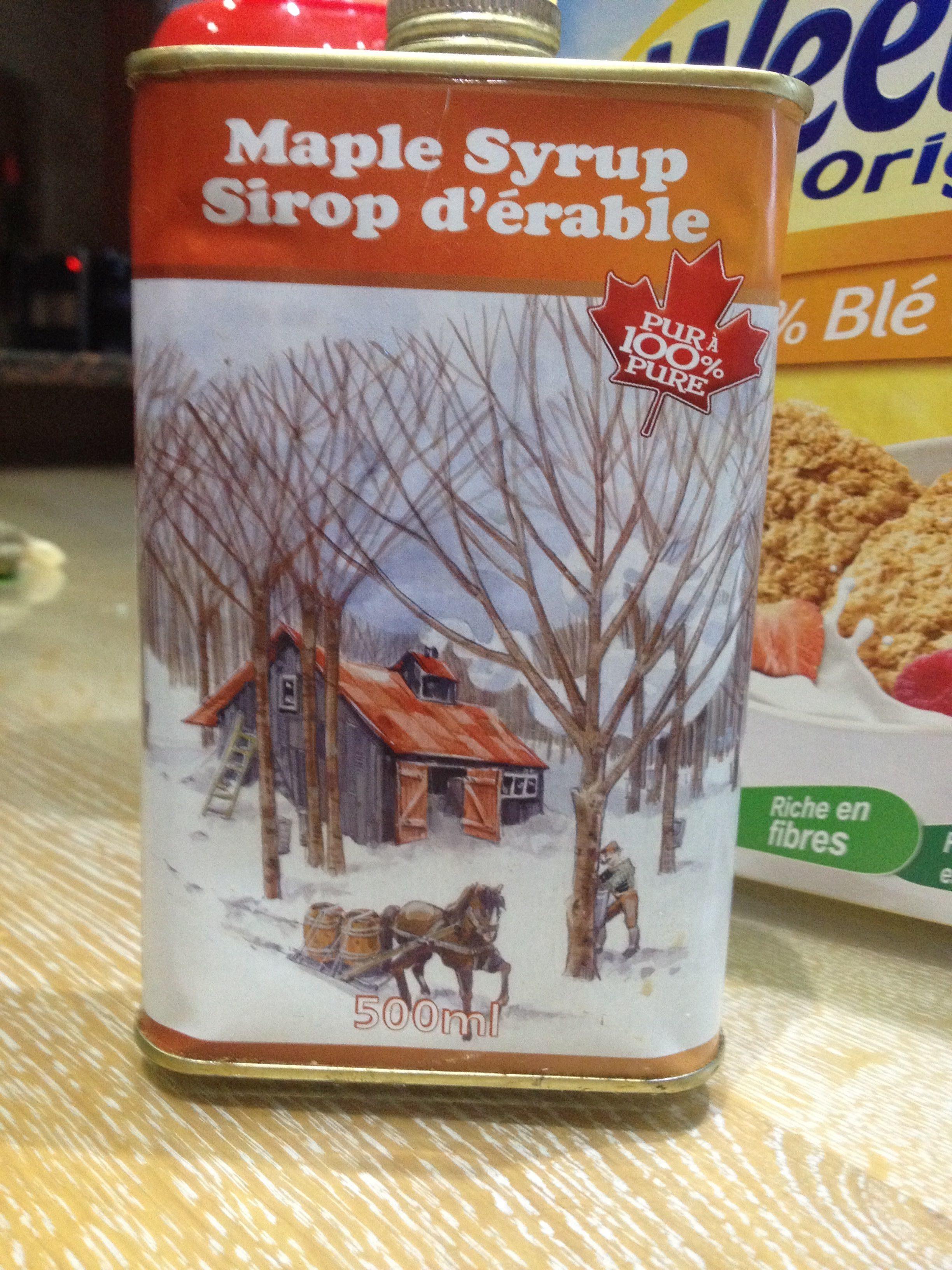 Maple syrusp sirop d'érable - Produit - fr