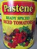 Tomate en des - Produit