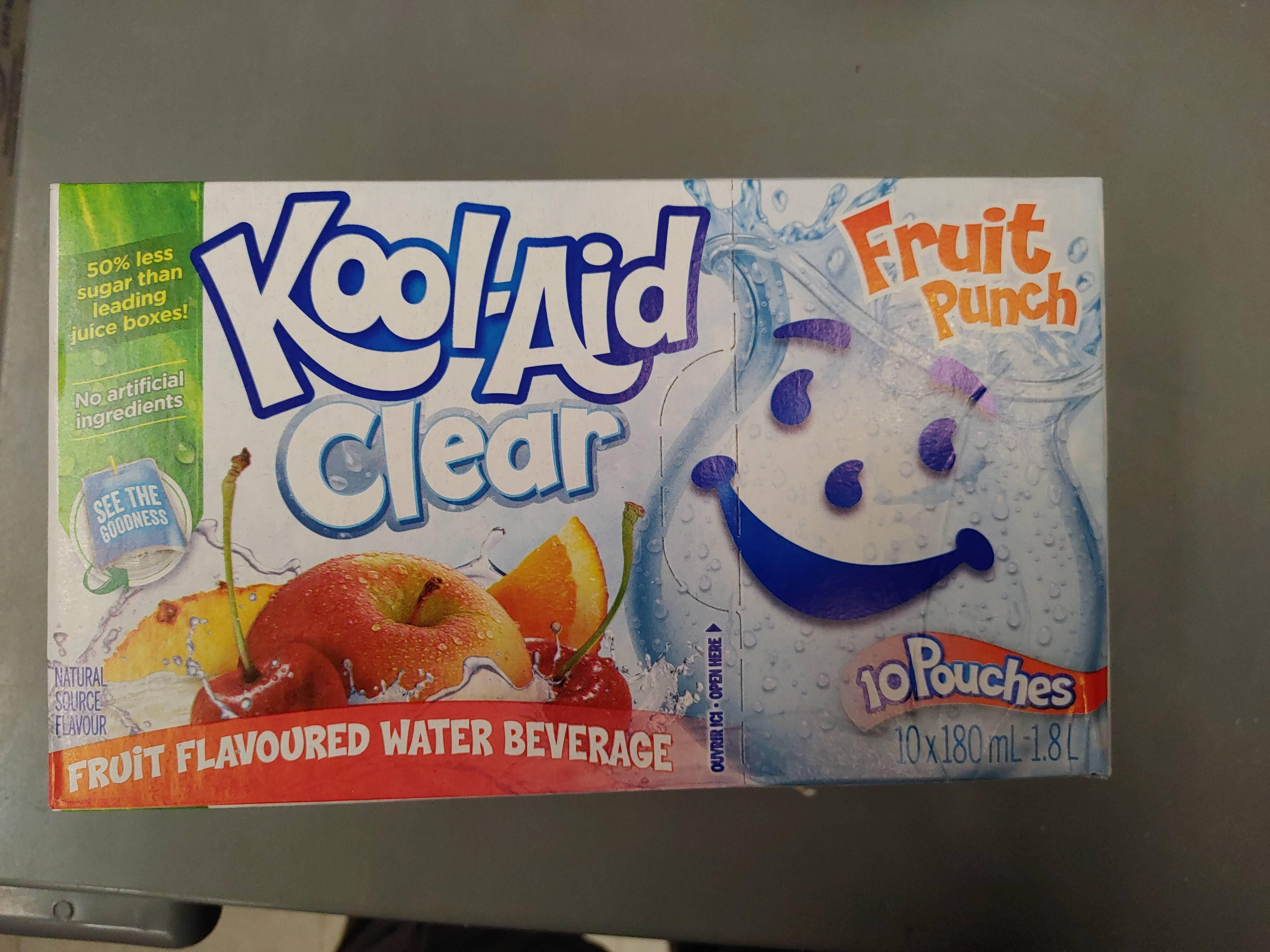 Kool Aid Clear Fruit Punch - Produit - en