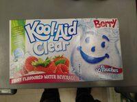 Kool Aid Clear Berry - Produit - en