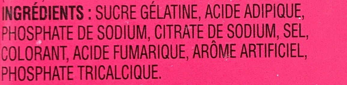 Poudre Pour Gelée (framboise) - Ingrédients - fr
