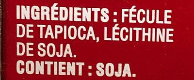 Minit tapioca - Ingredients - fr