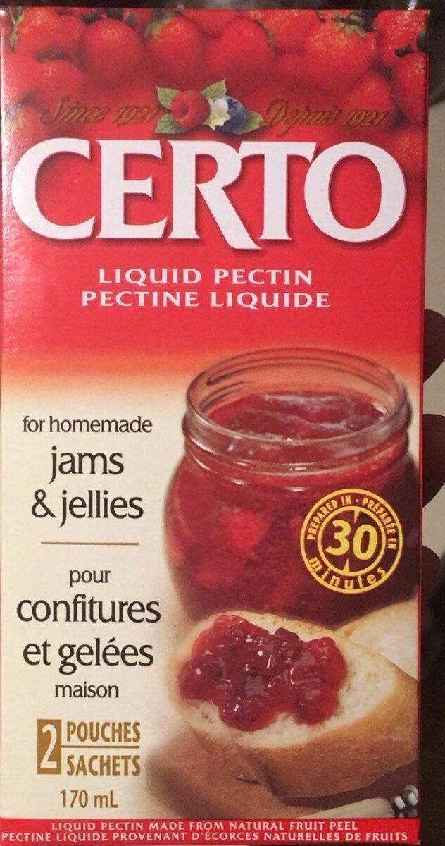 Pectin liquid - Produit - en