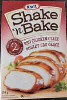 Shake 'n bake coating mix glaze - Produit - en