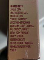 Shake 'n bake coating mix glaze - Ingrédients - en