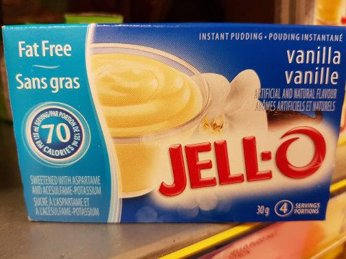 Fat free Vanilla Instant Pudding - Produit - fr