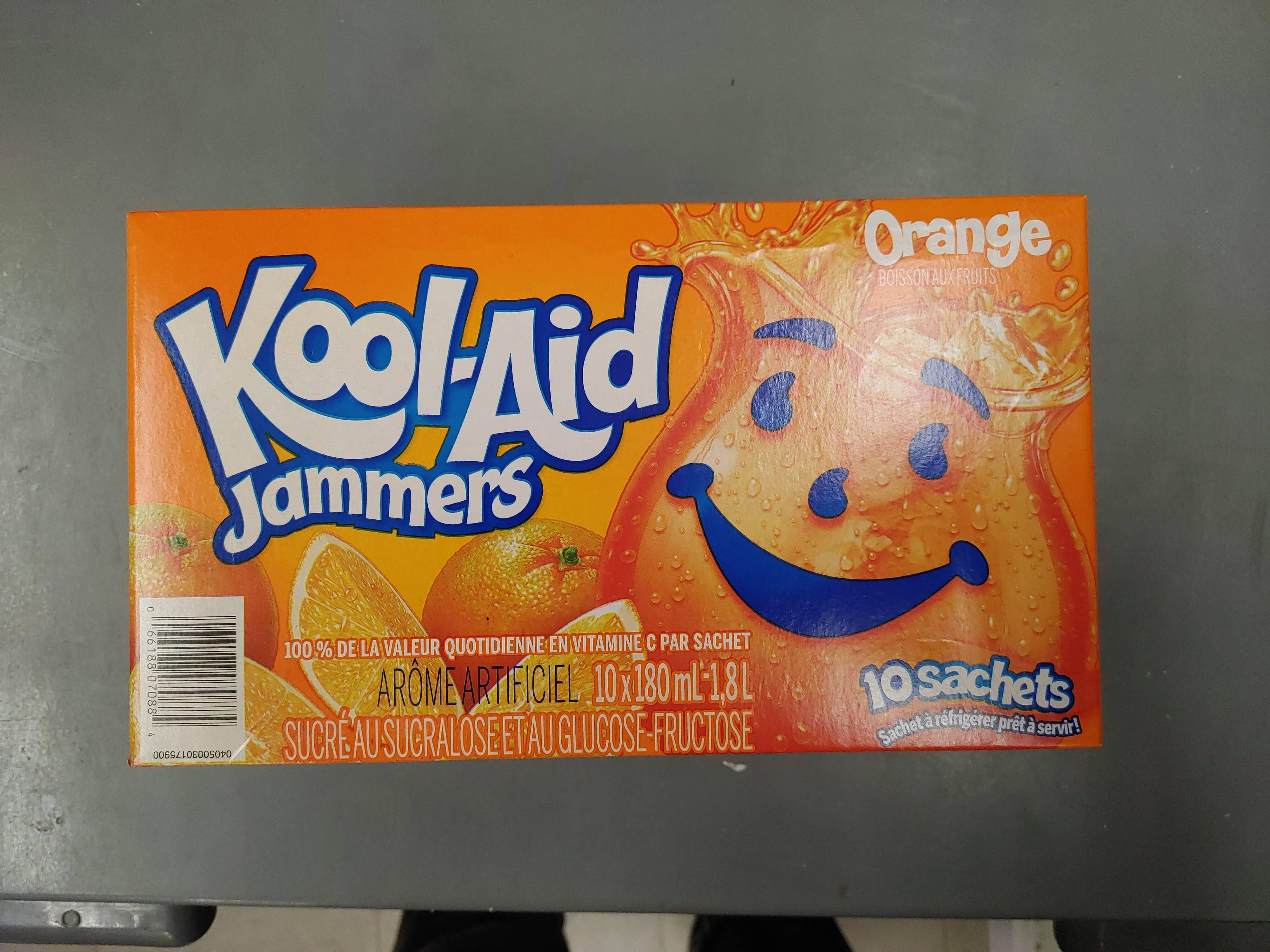 Kool Aid Jammers Orange 🍊 - Produit - en