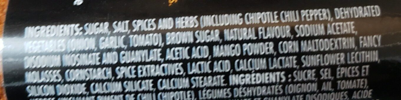 Chipotle mango - Ingredients - en