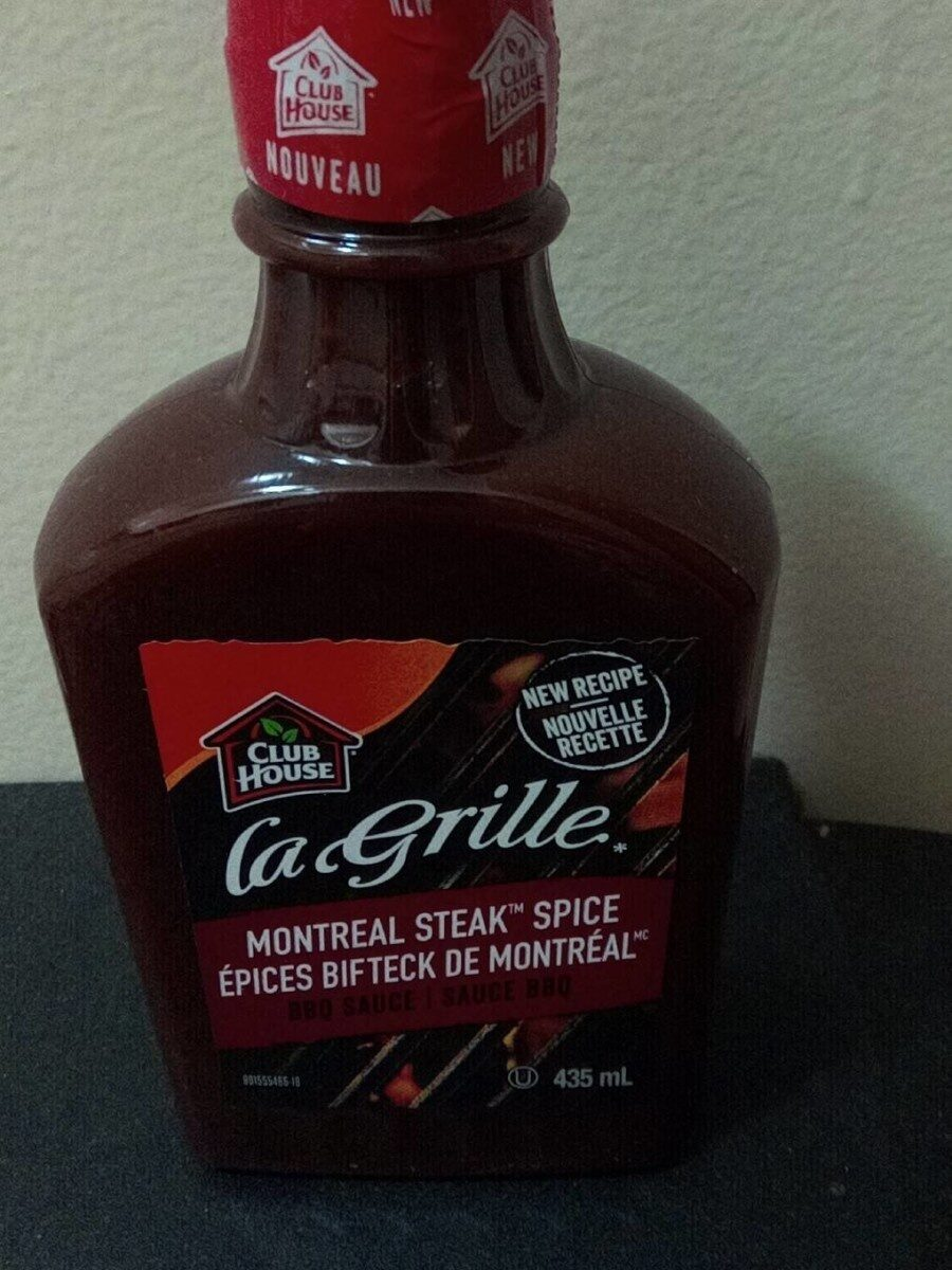 La grille grilling made easy bbq sauce montreal steak spice - Product - fr