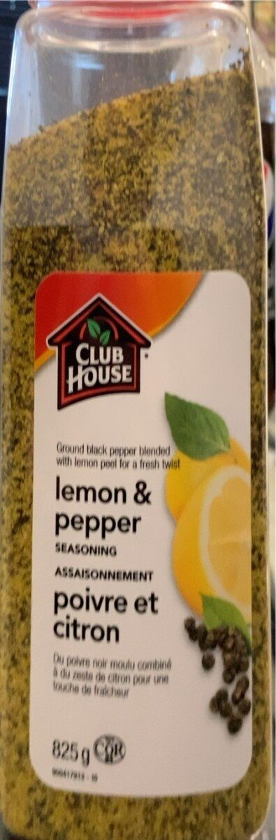 Lemon and pepper seasoning - Prodotto - en