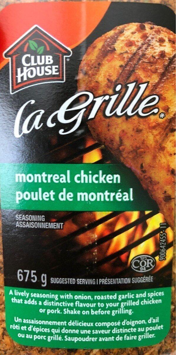 Montreal Chicken Seasoning - Product - fr