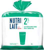 Nutrilait 2% Partially Skimmed Milk - Produit - fr