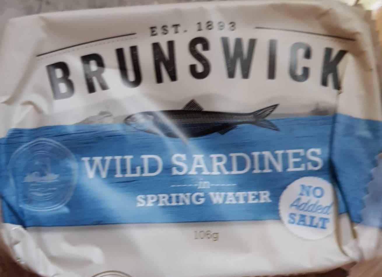 Brunswick Wild Sardines - Product