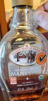 Shady maple farms, 100% pure organic maple syrup - Produit - en