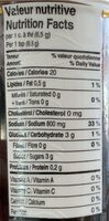 Bouillon au poulet - Informations nutritionnelles - fr