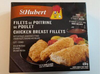 Filets de poitrine de poulet - Product - fr