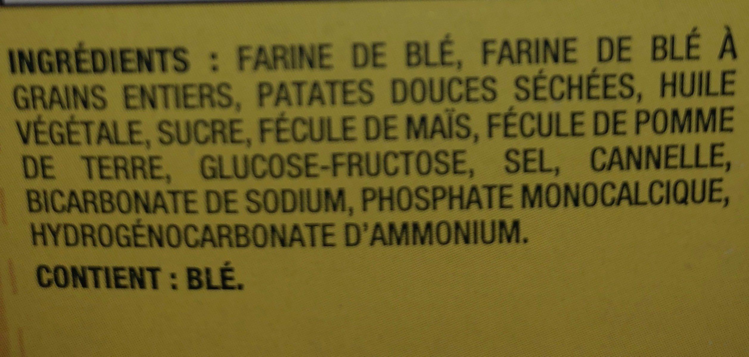 Fins au blé - Ingrédients - fr